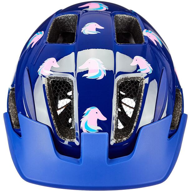 Lazer Lil Gekko Helm mit Insektenschutznetz Kinder blau/bunt