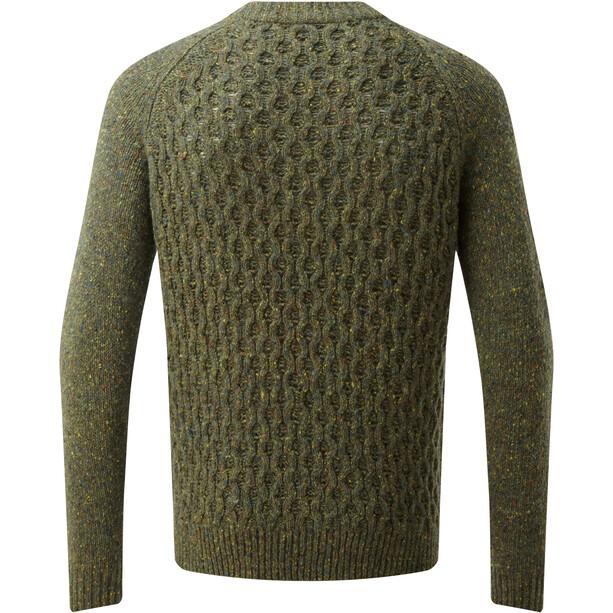 Sherpa Nuri Rundhals Sweater Herren gokarna green
