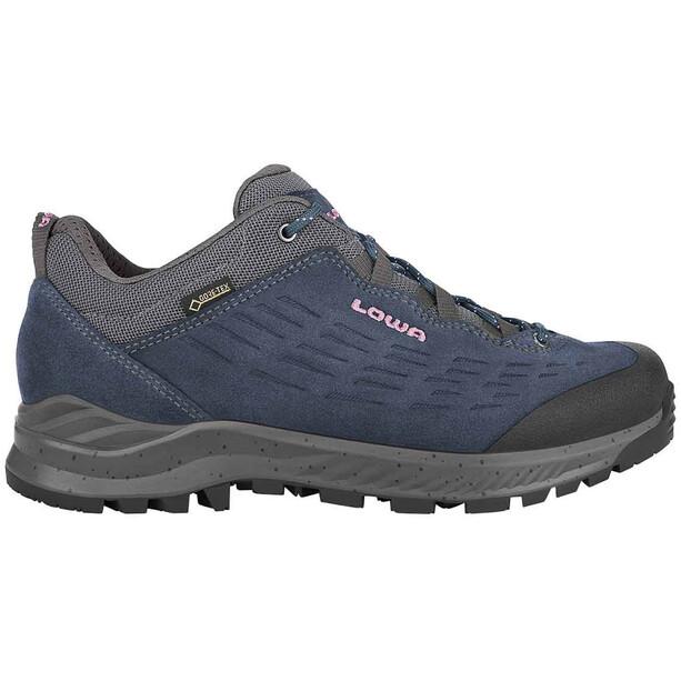 Lowa Explrr GTX Low-Cut Trekkingschuhe Damen blau