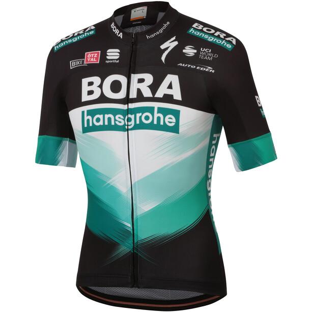 Sportful Team Bora Hansgrohe Bodyfit Kurzarm Trikot Herren black green