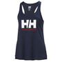 Helly Hansen HH Logo Singlet Dames, blauw