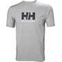 Helly Hansen HH Logo T-Shirt Herren grey melange