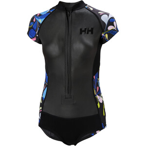 Helly Hansen Waterwear Badeanzug Damen black black