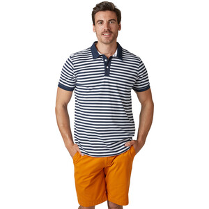 Helly Hansen Fjord Polo Herren navy stripe navy stripe