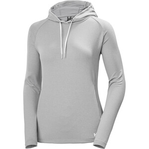 Helly Hansen Verglas Light Hoodie Damen grey fog grey fog