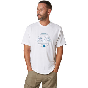 Helly Hansen Skog Graphic T-Shirt Herren white white