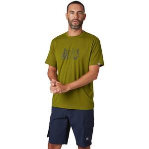Helly Hansen Skog Graphic T-Shirt Herren fir green fir green