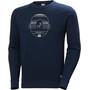 Helly Hansen F2F Baumwollsweater Herren blau