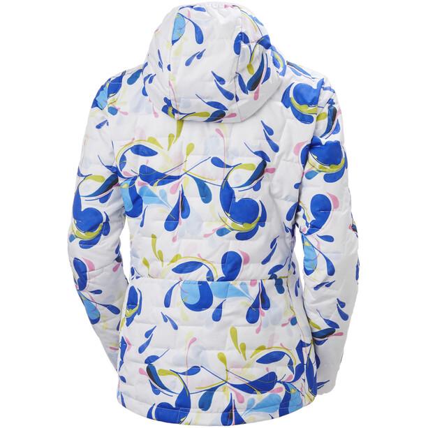 Helly Hansen Lifaloft Veste à capuche Insulator Femme, blanc/bleu