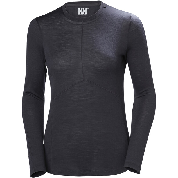 Helly Hansen HH Merino Light LS Shirt Women svart