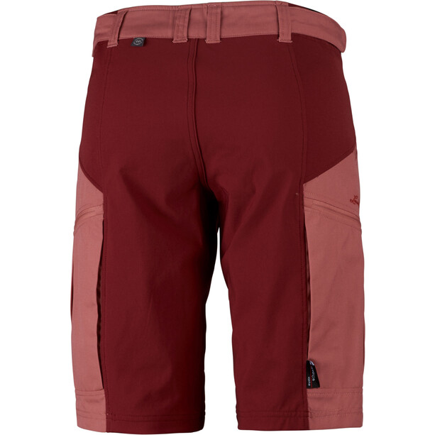 Lundhags Makke Shorts Damen crystal/dark red