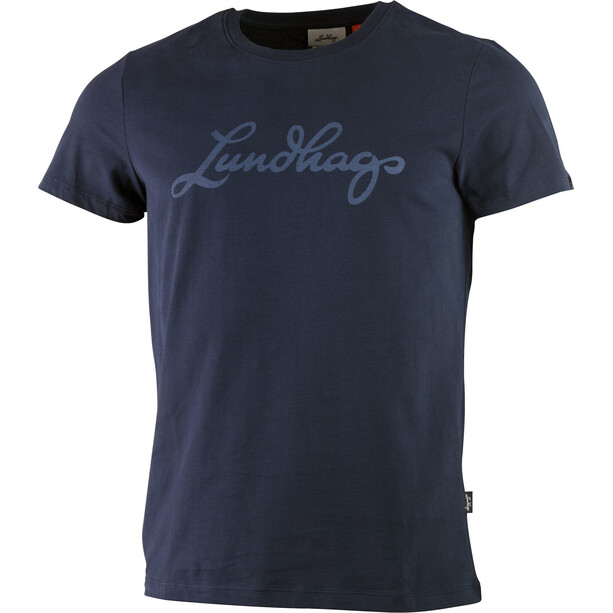 Lundhags Tee Men deep blue