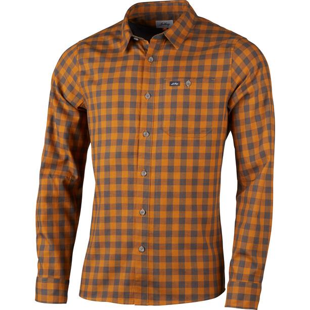 Lundhags Ekren LS Shirt Men dark gold