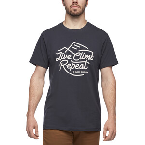 Black Diamond Live Climb Repeat T-Shirt Herren eclipse eclipse