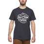 Black Diamond Live Climb Repeat T-Shirt Herren grau