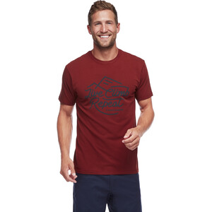 Black Diamond Live Climb Repeat T-Shirt Herren red oxide red oxide