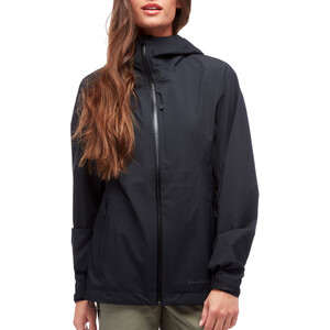 Black Diamond Highline Shell Jacke Damen black black