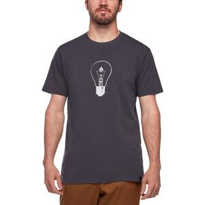 Black Diamond Idea Kurzarm T-Shirt Herren carbon carbon