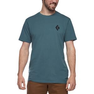 Black Diamond Equipment for Alpinist Lyhythihainen T-paita Miehet, sininen sininen