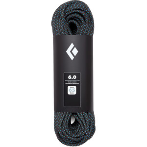 Black Diamond 8.0 Static Seil 65m black black