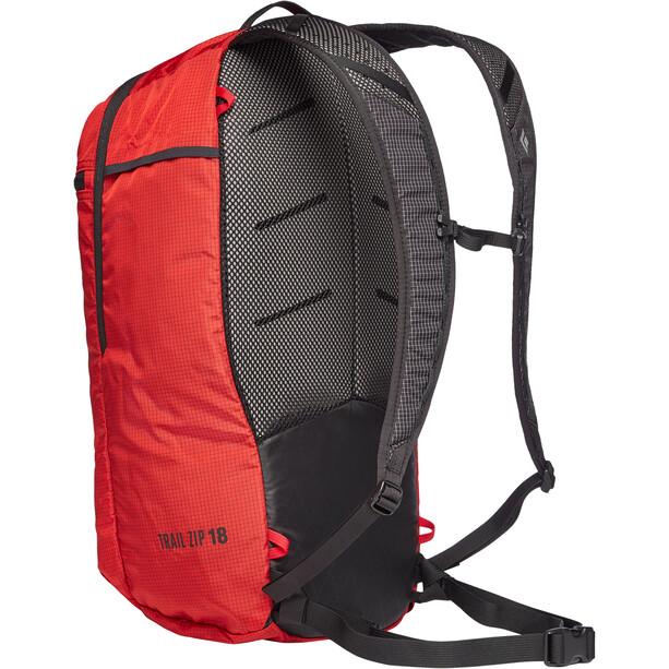 Black Diamond Trail Zip 18 Rucksack hyper red