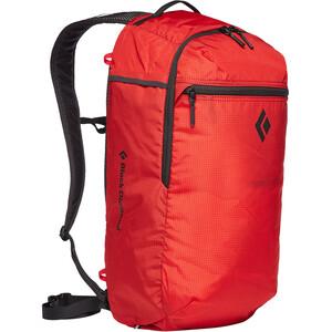 Black Diamond Trail Zip 18 Selkäreppu, punainen punainen