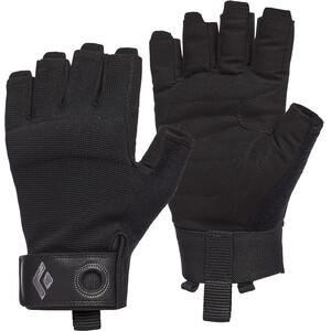 Black Diamond Crag Halbfinger Handschuhe Herren schwarz schwarz