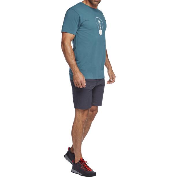 Black Diamond Anchor Stretch Shorts Men carbon