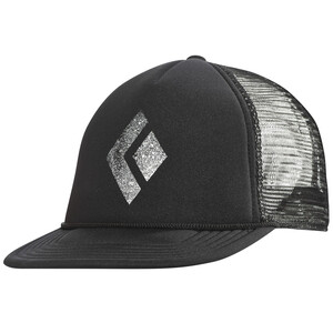 Black Diamond Flat Bill Trucker Hat black/white black/white
