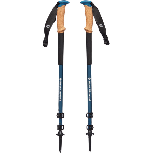 Black Diamond Alpine C Cork WR Trekking Poles astral blue