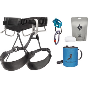 Black Diamond Momentum 4S Harness Package anthracite anthracite
