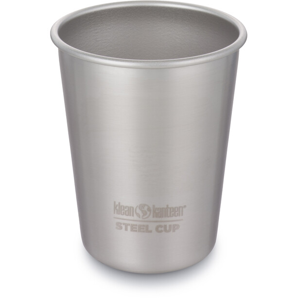 Klean Kanteen Pint Cup 295ml 4-Pack brushed stainless