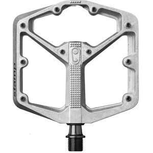 Crankbrothers Stamp 2 Platform Pedals L raw silver raw silver