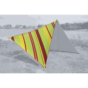 Bent Canvas Allover Set Karibik stripe lime punch/zipper red stripe lime punch/zipper red