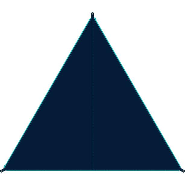Bent Canvas Plain Tarp Single blau