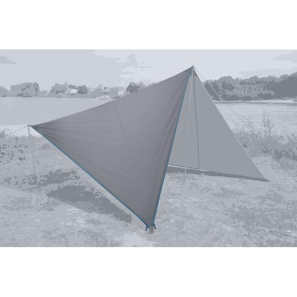 Bent Canvas Plain Tarp Single grau