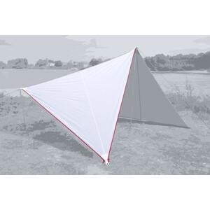 Bent Canvas Plain Set white/zipper red white/zipper red