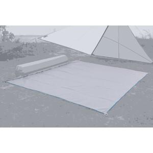 Bent Plain Teppich grau grau