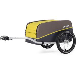 Croozer Cargo Kalle Remolque de carga, amarillo/marrón amarillo/marrón