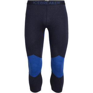 Icebreaker 260 Zone Legless Tights Herren midnight navy/surf midnight navy/surf