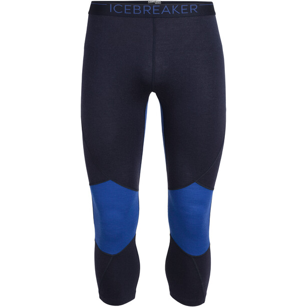 Icebreaker 260 Zone Legless Tights Herren midnight navy/surf