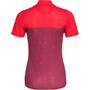 Triple2 Swet Recycled Poly Kurzarm Trikot Damen beet red