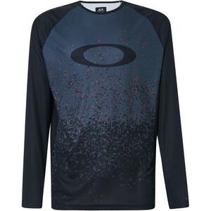 Oakley MTB Langarm Tech T-Shirt Herren grey pixel print grey pixel print