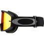 Oakley O-Frame 2.0 MTB Goggles black gunmetal/fire iridium