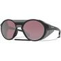 Oakley Clifden Sonnenbrille matte black/prizm snow black