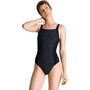 arena Akira U Back One Piece Badeanzug Damen black/black