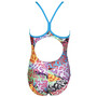 arena Crazy Light Drop One Piece Swimsuit Girls turquoise/multi