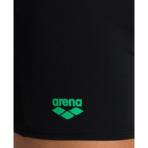 arena Essentials Shorts Herren black/golf green
