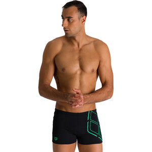 arena Essentials Shorts Herren black/golf green black/golf green