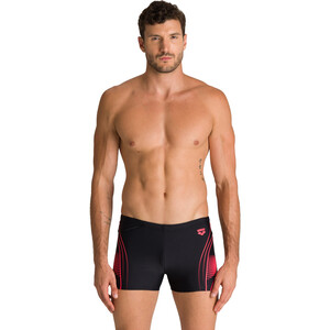 arena Fairness Shorts Herren black /fluo red black /fluo red
